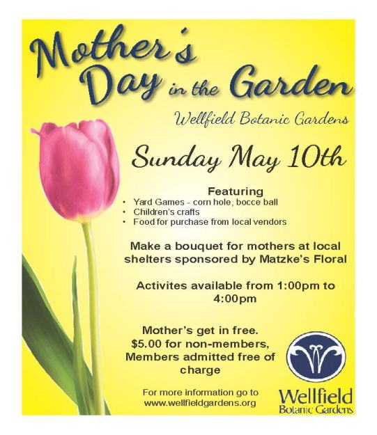 Mother's Day flier 2015