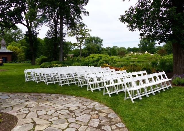 English Cottage Garden wedding ceremony setup (3) « Wellfield ...