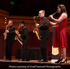 Fuego Quartet courtesy of Josef Samuel Photography