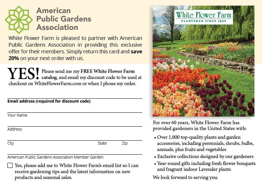 Membership Has Its Privileges Wellfield Botanic Gardens