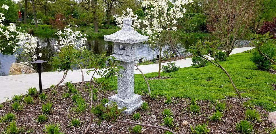 Island Garden Stone Lantern