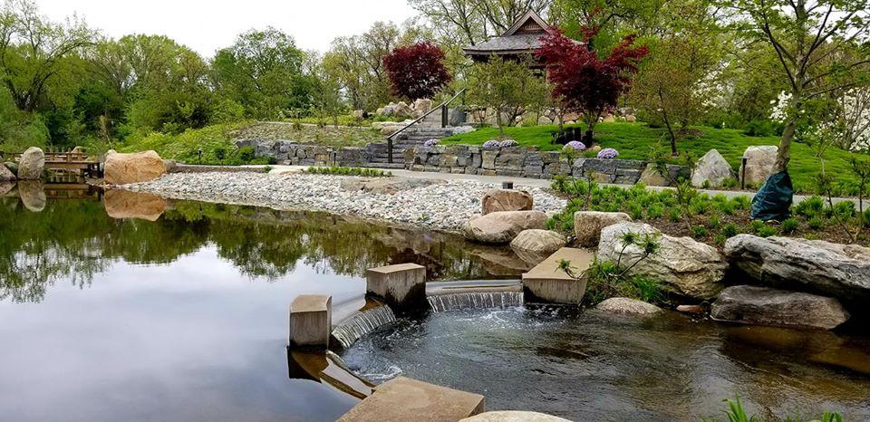 Island Garden Weir