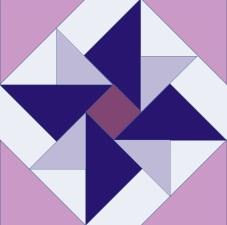 'Peace Flower' Wellfield 2021 QG Color Pattern