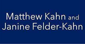 Matthew Kahn and Janine Felder-Kahn logo badge
