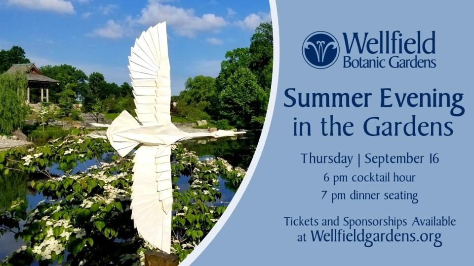 Summer Evening in the Gardens logo image